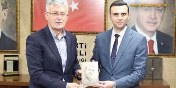 MHP İl Başkanı Kurt'tan Ak Parti'ye Ziyaret