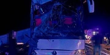 Korkunç Kaza; 25 Genç Yaralandı