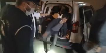 TEM'de 10 Kaçak Göçmen Yakalandı