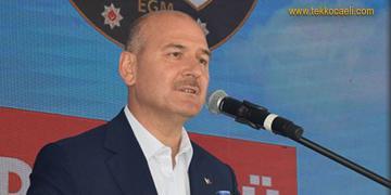İçişleri Bakanı Soylu'dan Kocaeli'de Flaş Açıklamalar