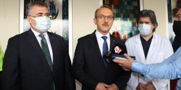 Kocaeli Valisi Seddar Yavuz, Yaralı Polisi Ziyaret Etti