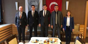 Muhalefet Partisi İl Başkanları Buluştu